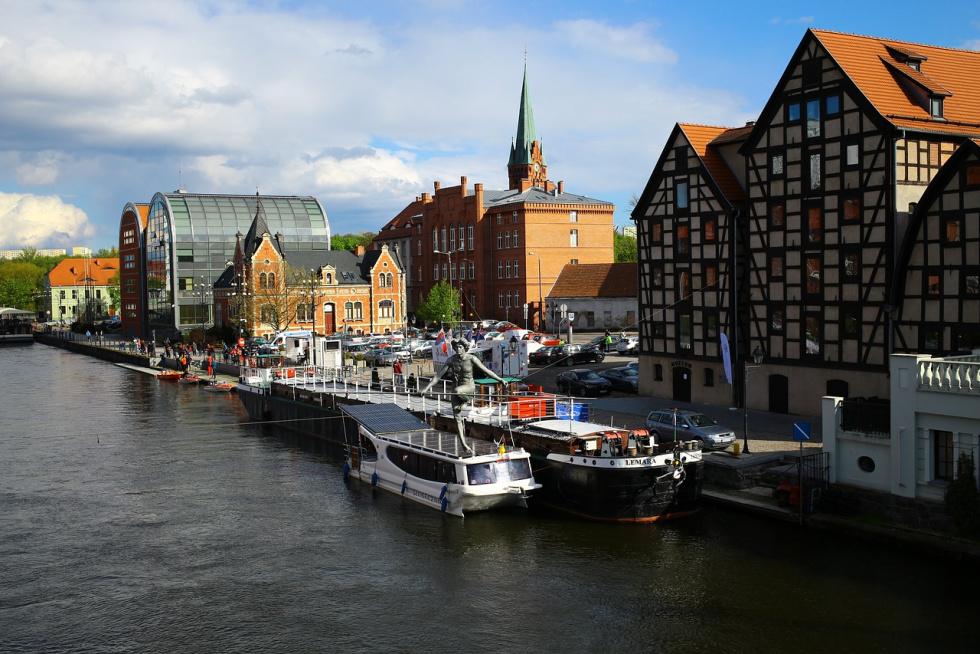Drugie miejsce dla Bydgoszczy w rankingu Water City Index 2020