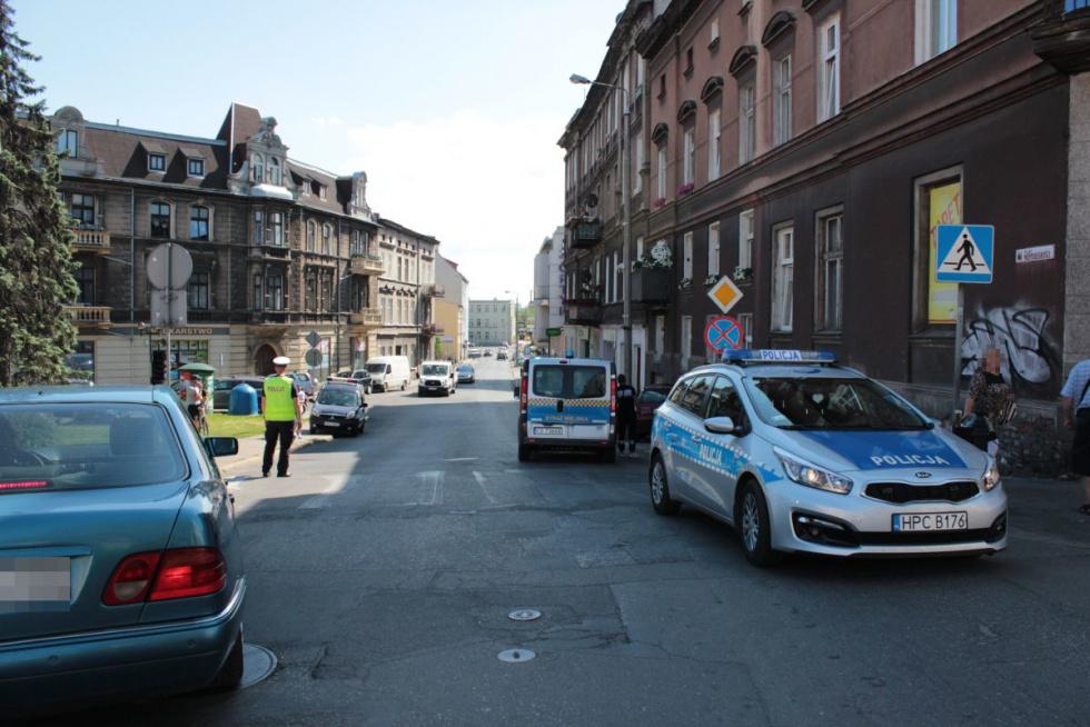 Dwie osoby potrącone na przejściu dla pieszych w regionie