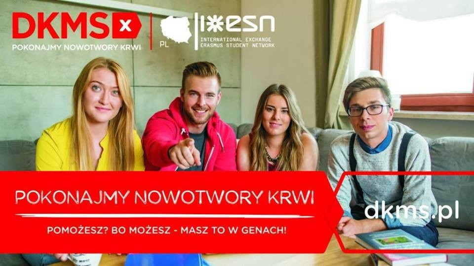 Dzień Dawcy Szpiku. Do rejestracji zaprasza ESN UKW Bydgoszcz