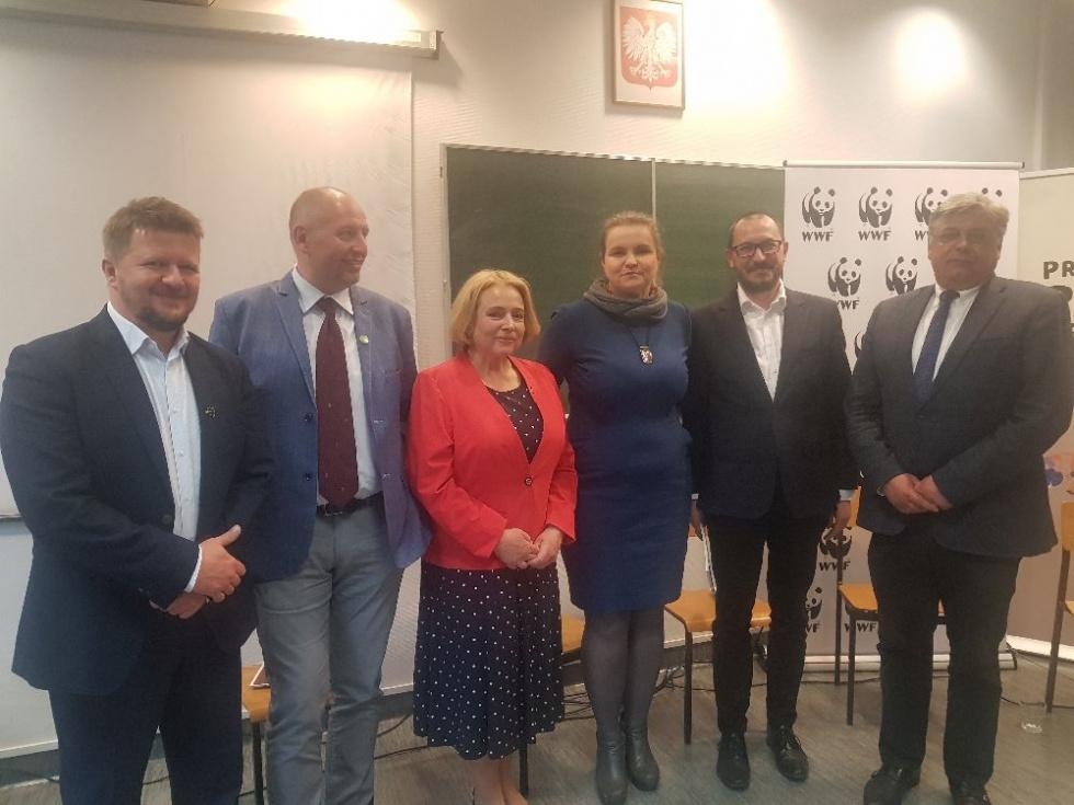 Fundacja WWF Polska zorganizowała w Bydgoszczy debatę