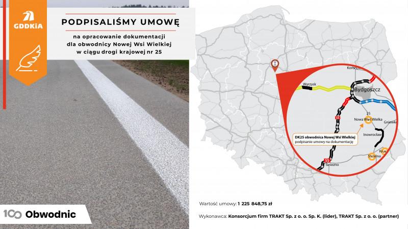GDDKiA Bydgoszcz: Rusza czwarta z sześciu obwodnic w województwie kujawsko-pomorskim