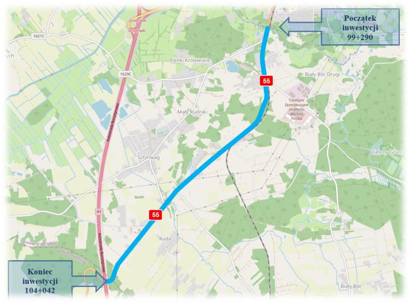 GDDKiA Bydgoszcz: Wyłoniono oferty na budowę ciągu pieszo-rowerowego na…