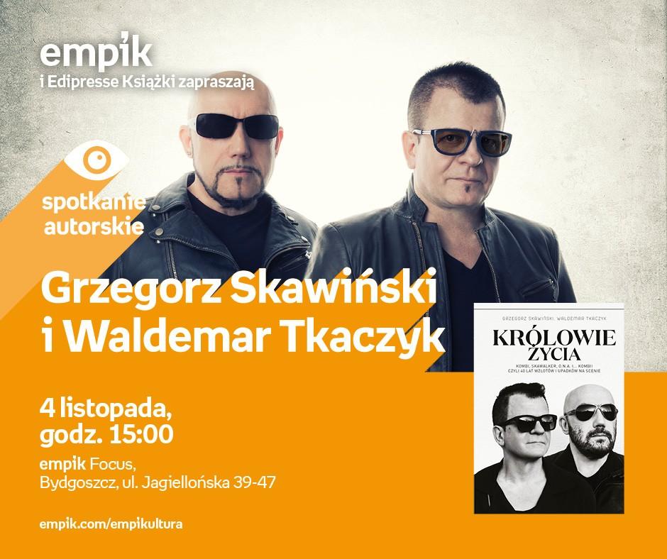 Grzegorz Skawiński i Waldemar Tkaczyk w bydgoskim Empiku