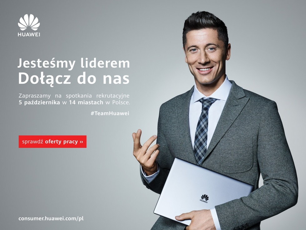 Huawei będzie zatrudniał w Bydgoszczy!