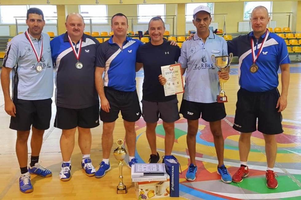 IPA Bydgoszcz kolejny raz na podium mistrzostw Polski w tenisie stołowym