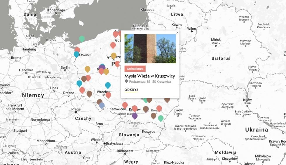 #JestTyleDoOdkrycia. Atrakcje kujawsko-pomorskiego wyróżnione na interaktywnej…