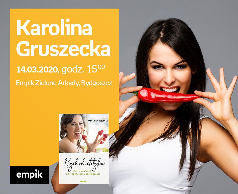Karolina Gruszecka spotka się z mieszkańcami Bydgoszczy