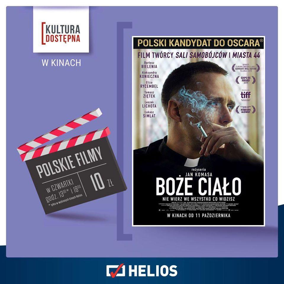 Kino Helios zaprasza - Polskie filmy