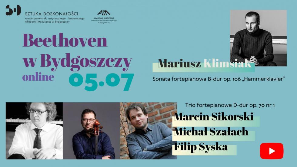 Koncert Beethoven w Bydgoszczy on-line