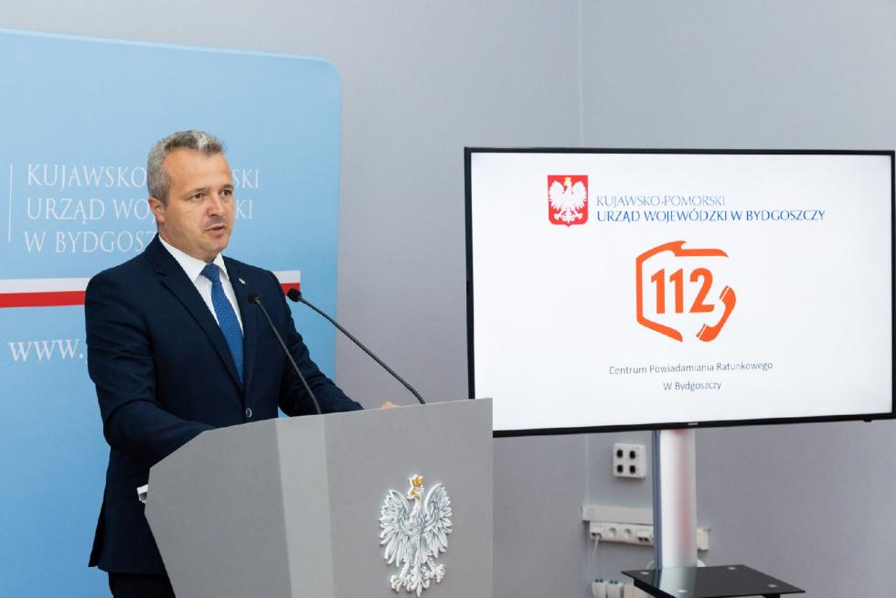 KPUW Bydgoszcz: Przekierowanie numeru alarmowego straży pożarnej 998 na…
