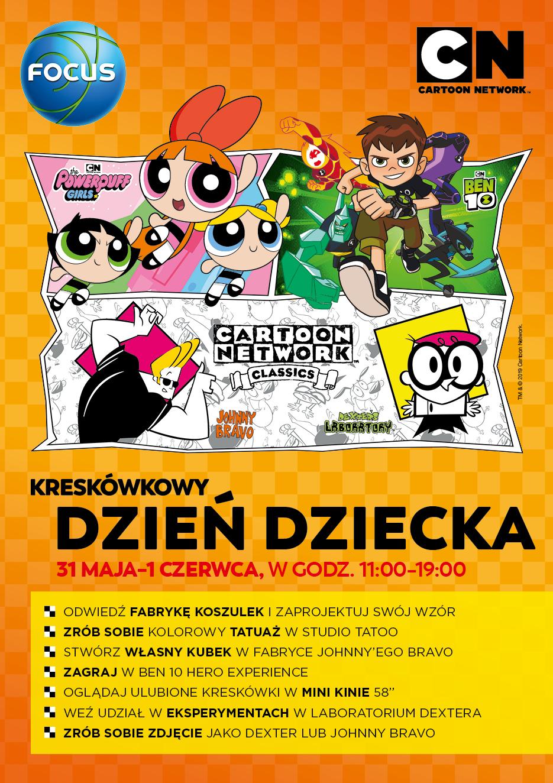 Kreskówkowy Dzień Dziecka w Focusie