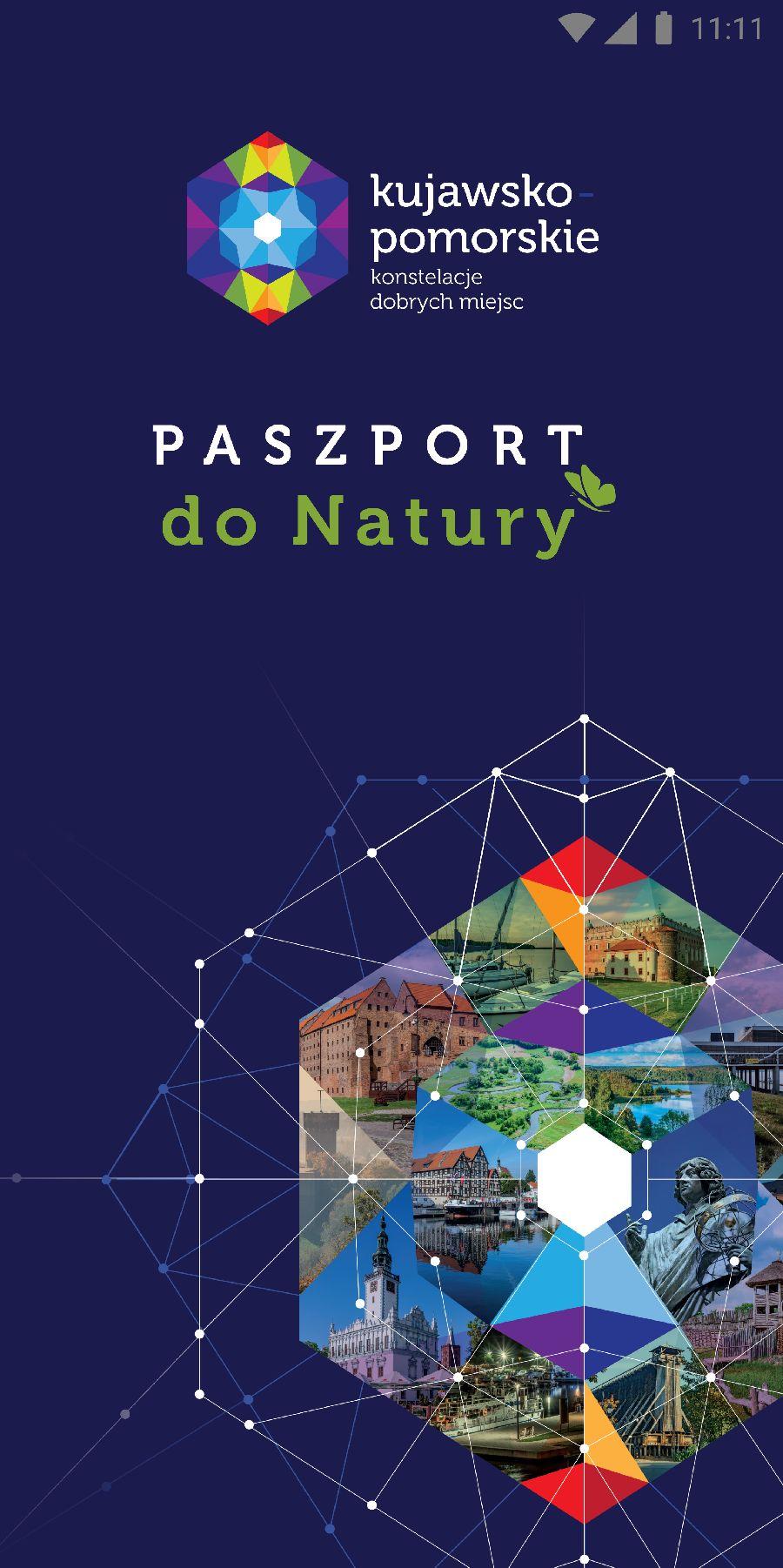 """Kujawsko-pomorski """"Paszport do Natury"""" w wersji mobilnej"""
