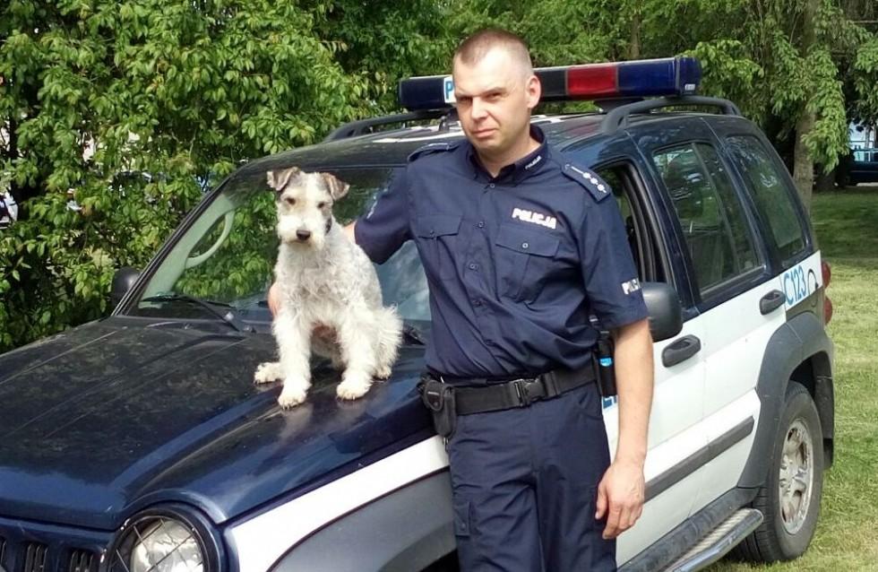 Łatek - bydgoski pies policyjny odszedł na emeryturę!