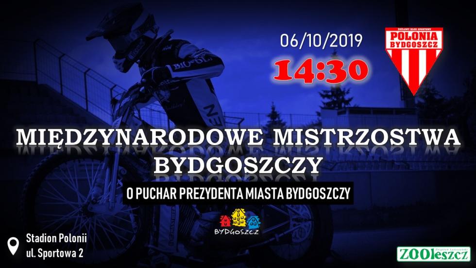 Lista startowa Międzynarodowych Mistrzostw Bydgoszczy skompletowana