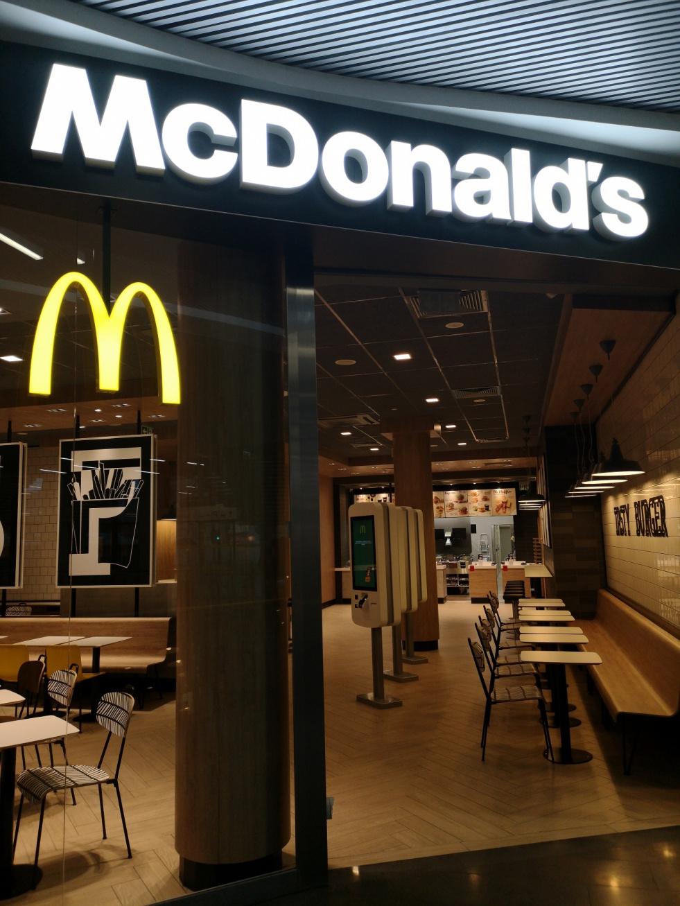 McDonald's na dworcu Bydgoszcz Główna już otwarty!