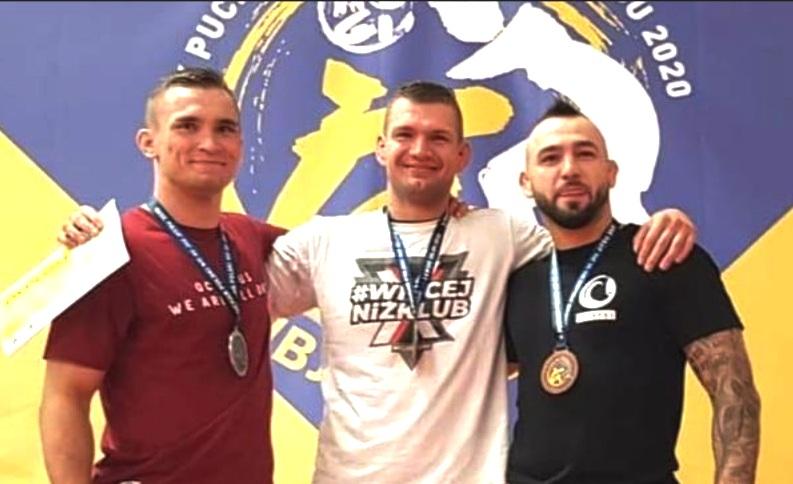 Medale bydgoskich wojowników w Brazylijskim Jiu Jitsu