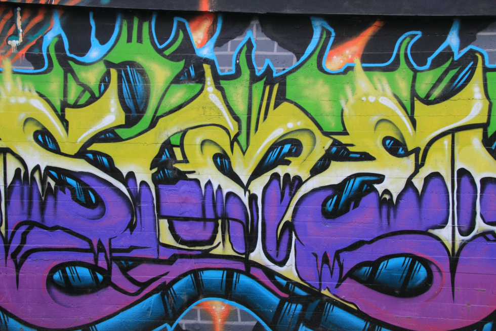 Miejsce na legalne graffiti w Bydgoszczy