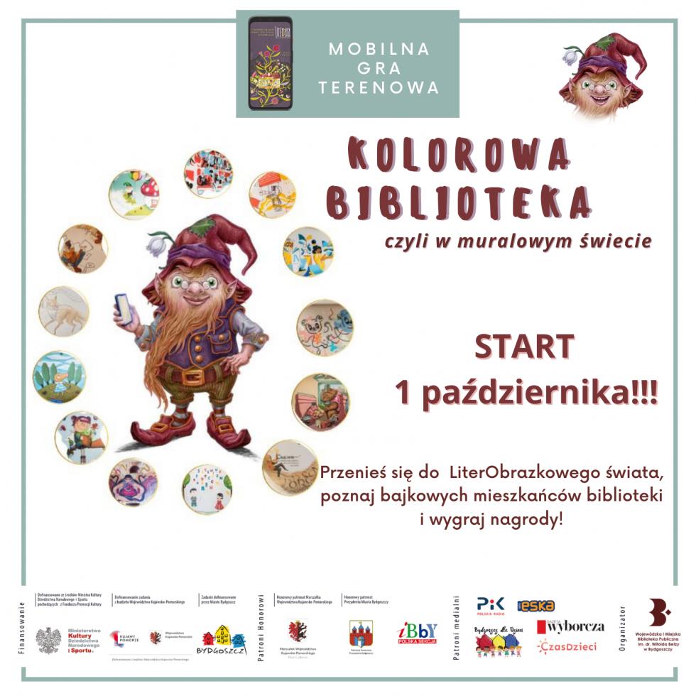 Mobilna Gra Terenowa w ramach Festiwalu LiterObrazki