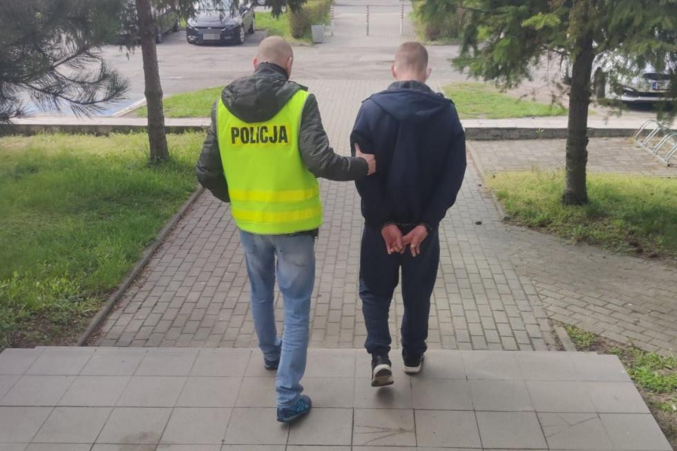 Na Górzyskowie 24-latek wpadł z narkotykami