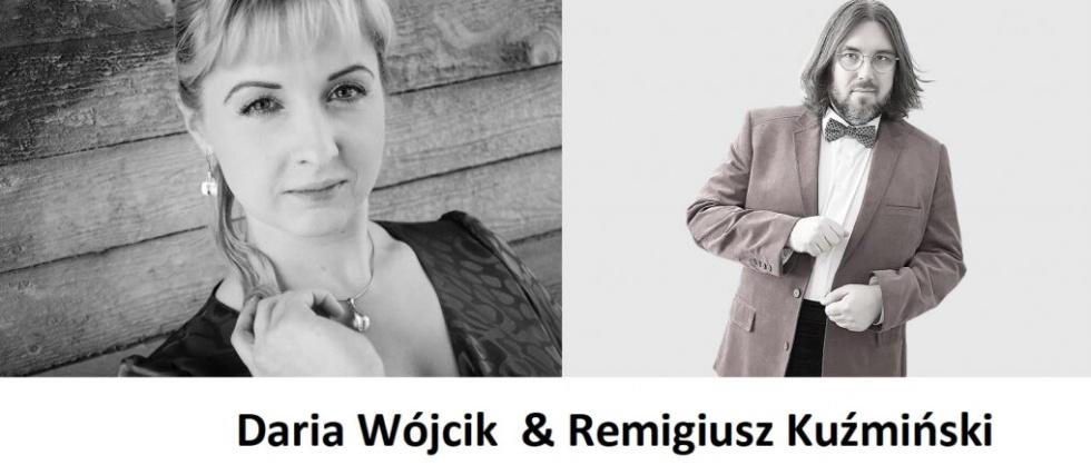 Na scenie w Światłowni Remigiusz Kuźmiński i Daria Wójcik