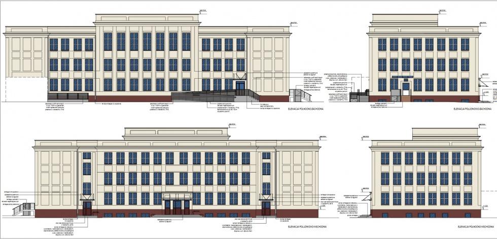 Nowa siedziba XIII Liceum Ogólnokształcącego w Bydgoszczy