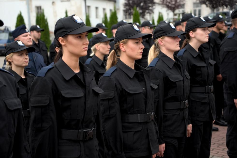 Nowi policjanci w Bydgoszczy
