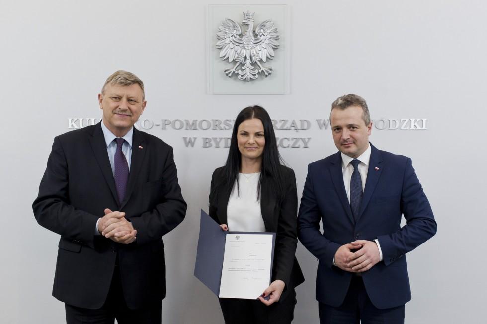 Nowy dyrektor generalny Kujawsko-Pomorskiego Urzędu Wojewódzkiego