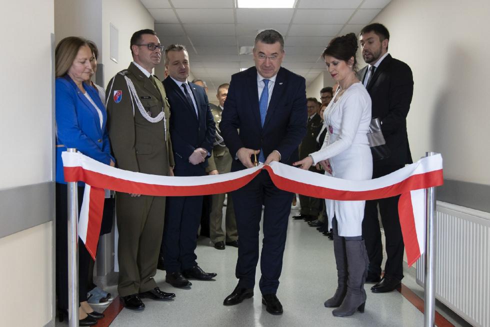 Otwarcie Pracowni Gammakamery oraz zmodernizowanej Kliniki Ortopedii i Chirurgii Narządu Ruchu w Szpitalu Wojskowym