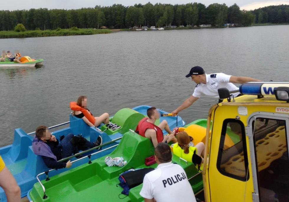 Pijani sternicy nad Zalewem Koronowskim wpadli w ręce policjantów