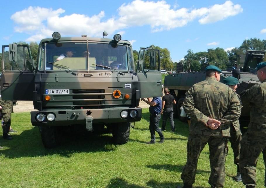 Pokazy sprzętu i ekspozycje wyposażenia wojskowego, czyli Dzień NATO w Bydgoszczy