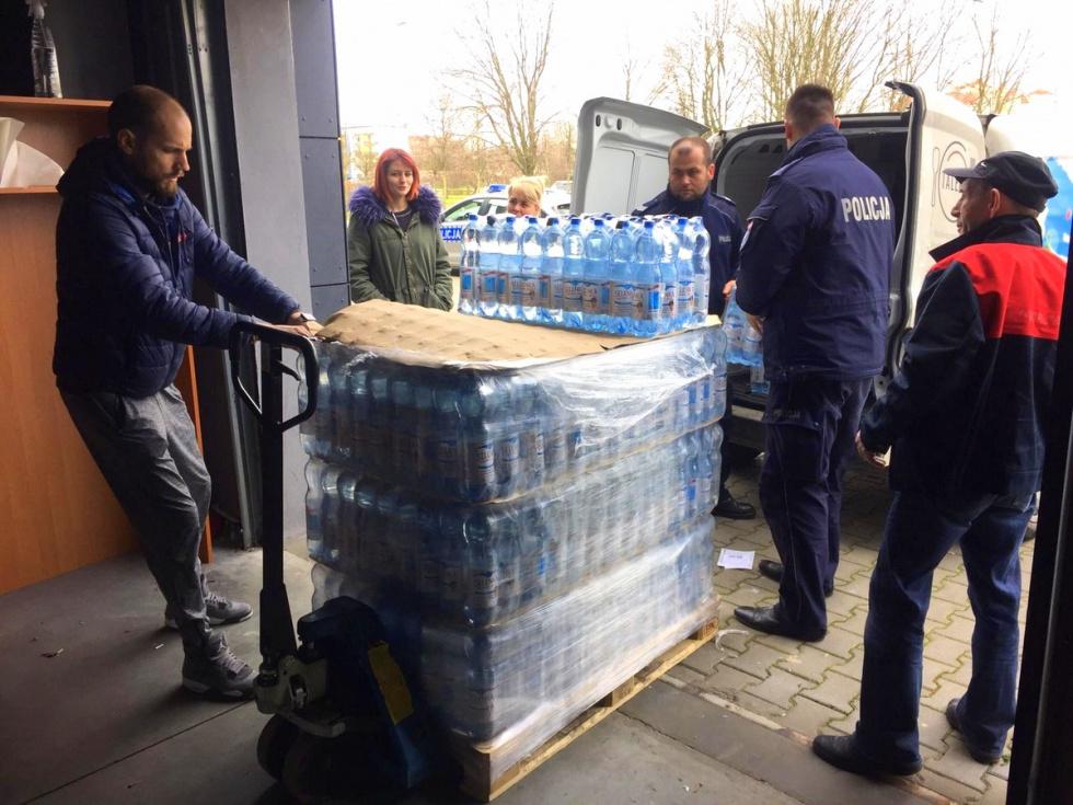 Pomoc dla objętych kwarantanną w Bydgoszczy