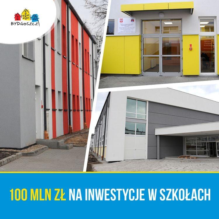 Ponad 100 mln na inwestycje w szkołach i przedszkolach