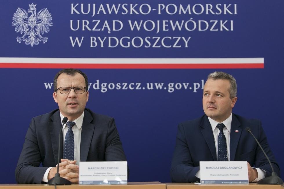 Ponad 77 mln zł trafi do rodzin z Kujaw i Pomorza