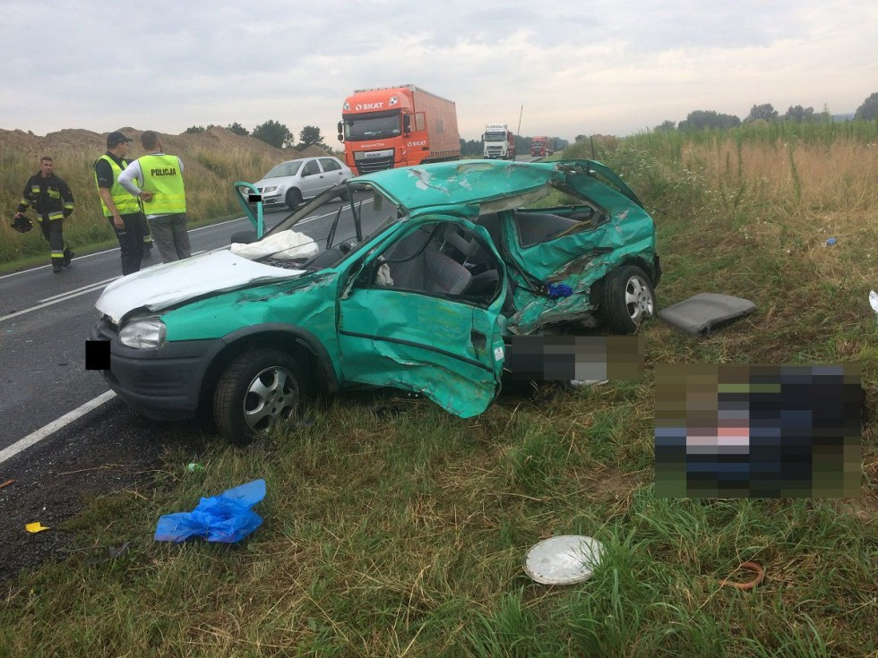 Poważny wypadek w regionie! Osoby ranne trafiły do szpitali w Bydgoszczy