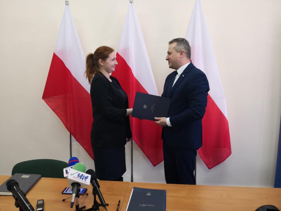 Powołano nowego pełnomocnika wojewody Mikołaja Bogdanowicza