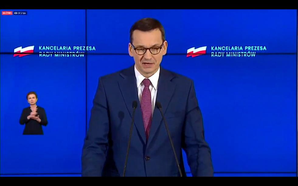 Premier: Od soboty cała Polska czerwoną strefą