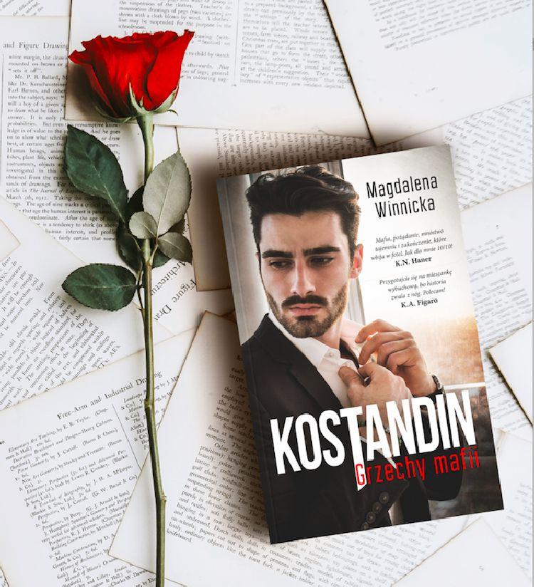 """Premiera powieści """"Kostandin. Grzechy mafii"""""""