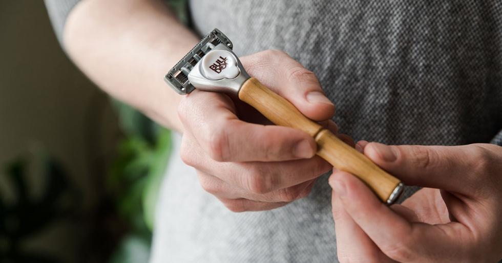 Prezent na Dzień Ojca? Może elegancka maszynka do golenia z bambusową…
