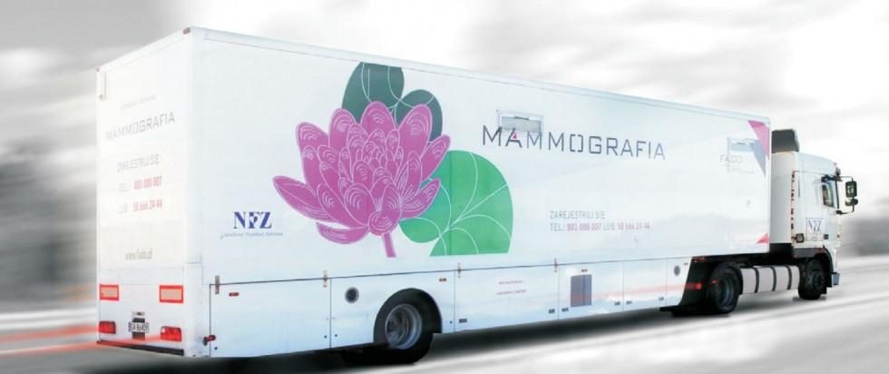 Przy Hali Łuczniczka wykonasz bezpłatnie mammografię