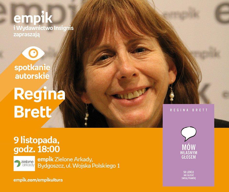 Przyjdź na Spotkanie z Reginą Brett