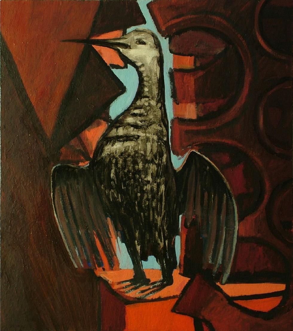 Ptak bez przestrzeni. Georg Johann Tribowski - wczesne obrazy. Muzeum Okręgowe zaprasza na wystawę