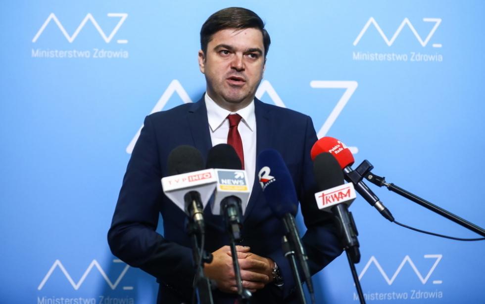 Rzecznik MZ: W polskich szpitalach szczyt III fali właśnie się przetacza