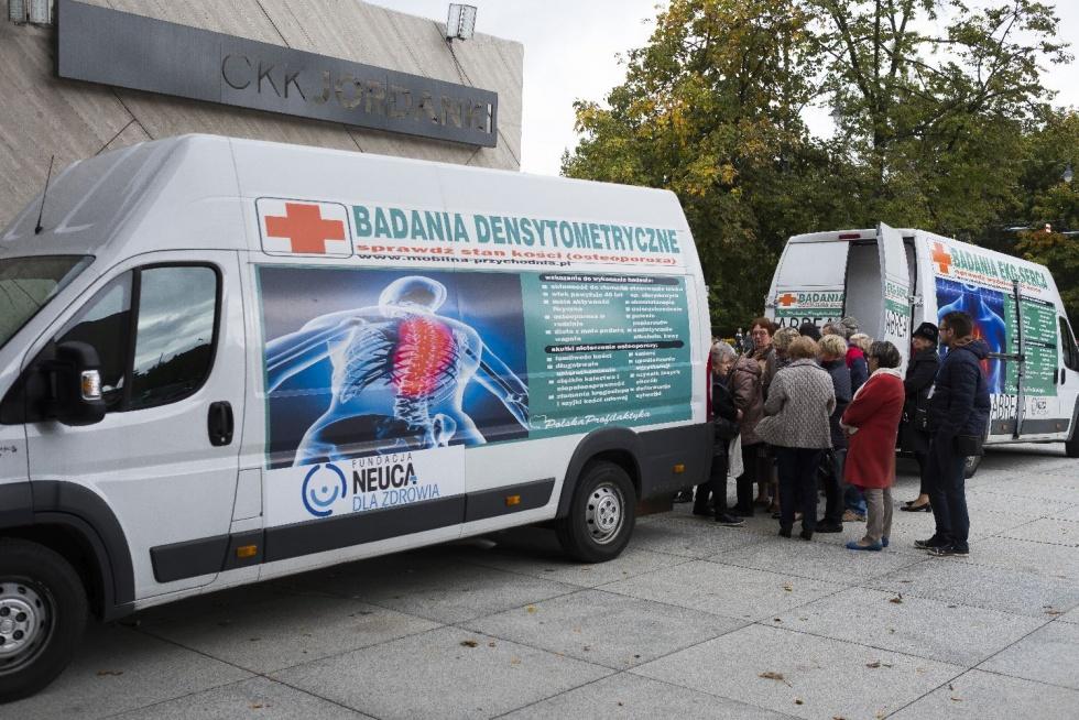 Skorzystaj z bezpłatnych badań kości w Bydgoszczy