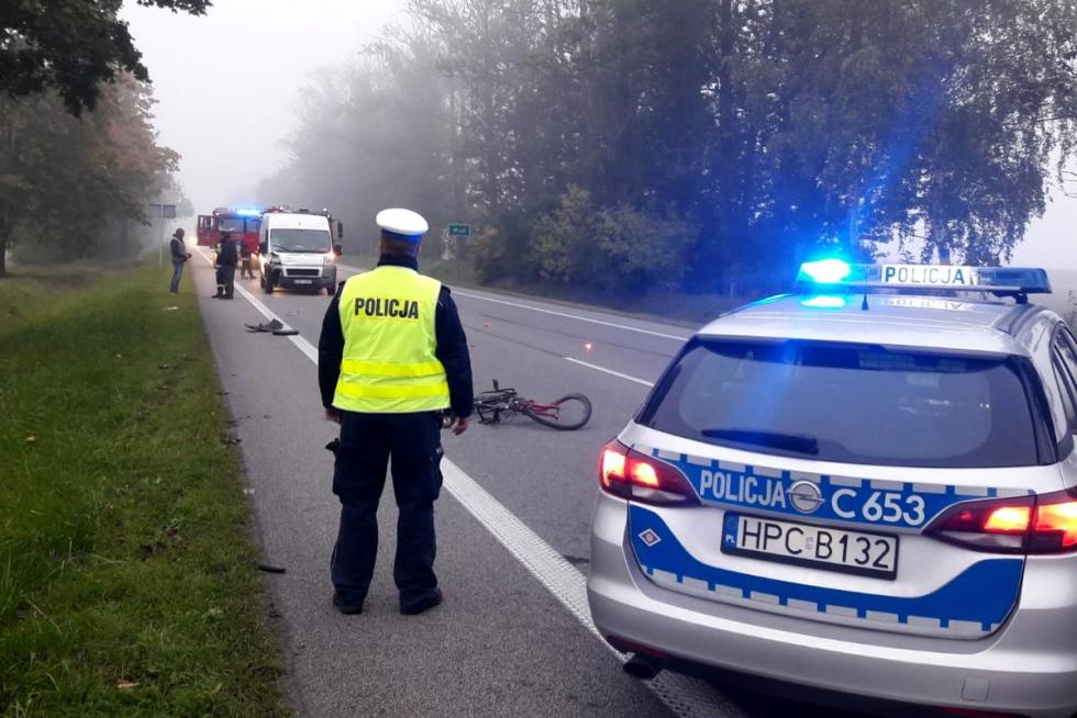 Śmiertelny wypadek na DK10 w regionie