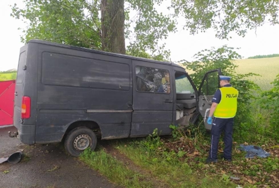 Śmiertelny wypadek w Grucznie
