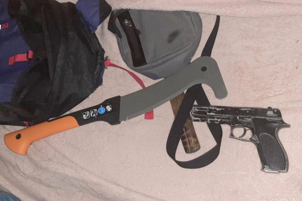 Sterroryzował bydgoszczanina przy użyciu broni. Trafił do aresztu [FOTO]