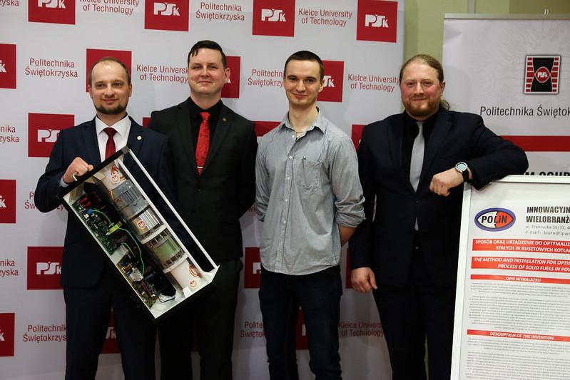 Studenci z UTP nagrodzeni za wynalazek dronowy