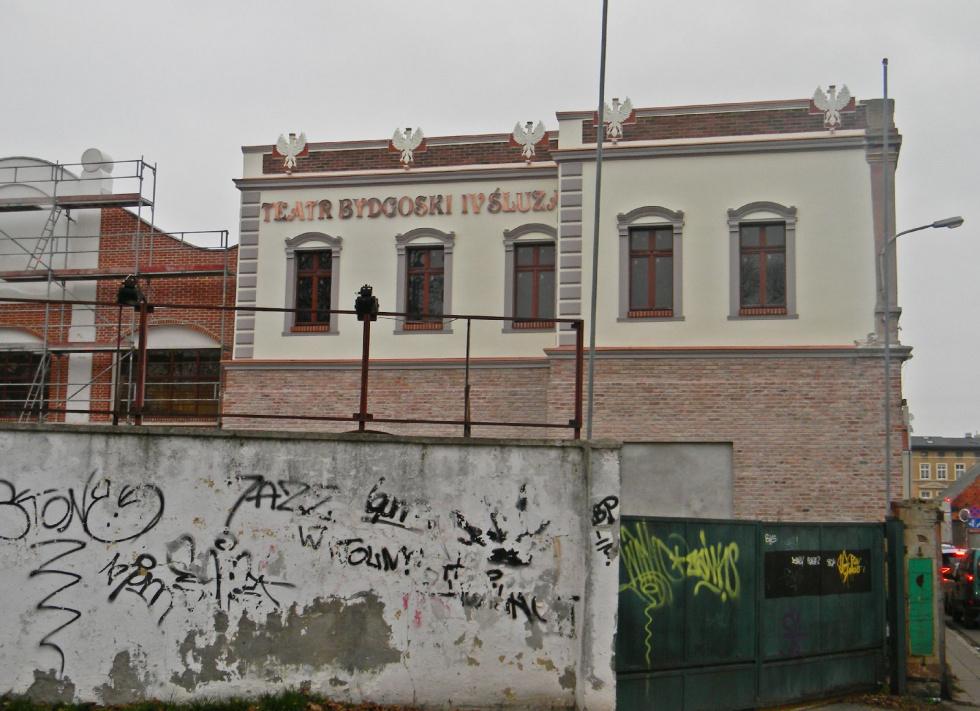 Teatr Bydgoski IV Śluza. Rewitalizacja trwa