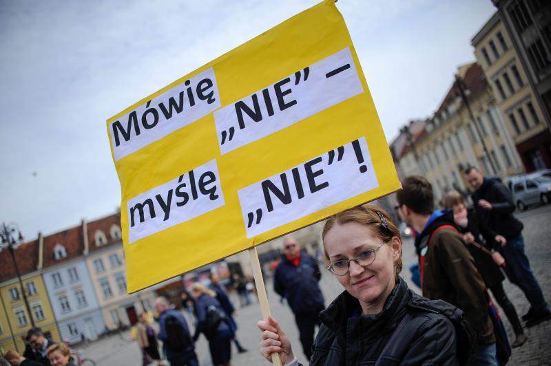 To jest wojna! Strajk kobiet. Blokada wszystkiego w Bydgoszczy