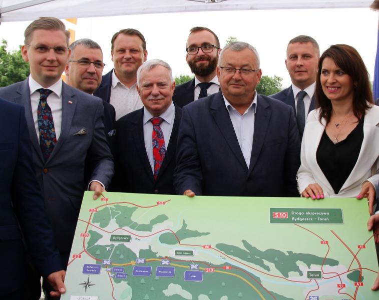 Toruń: Ruszają przetargi na wszystkie odcinki S10